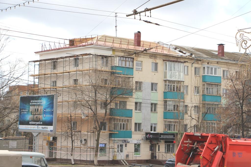 Текущий ремонт фасадов зданий
